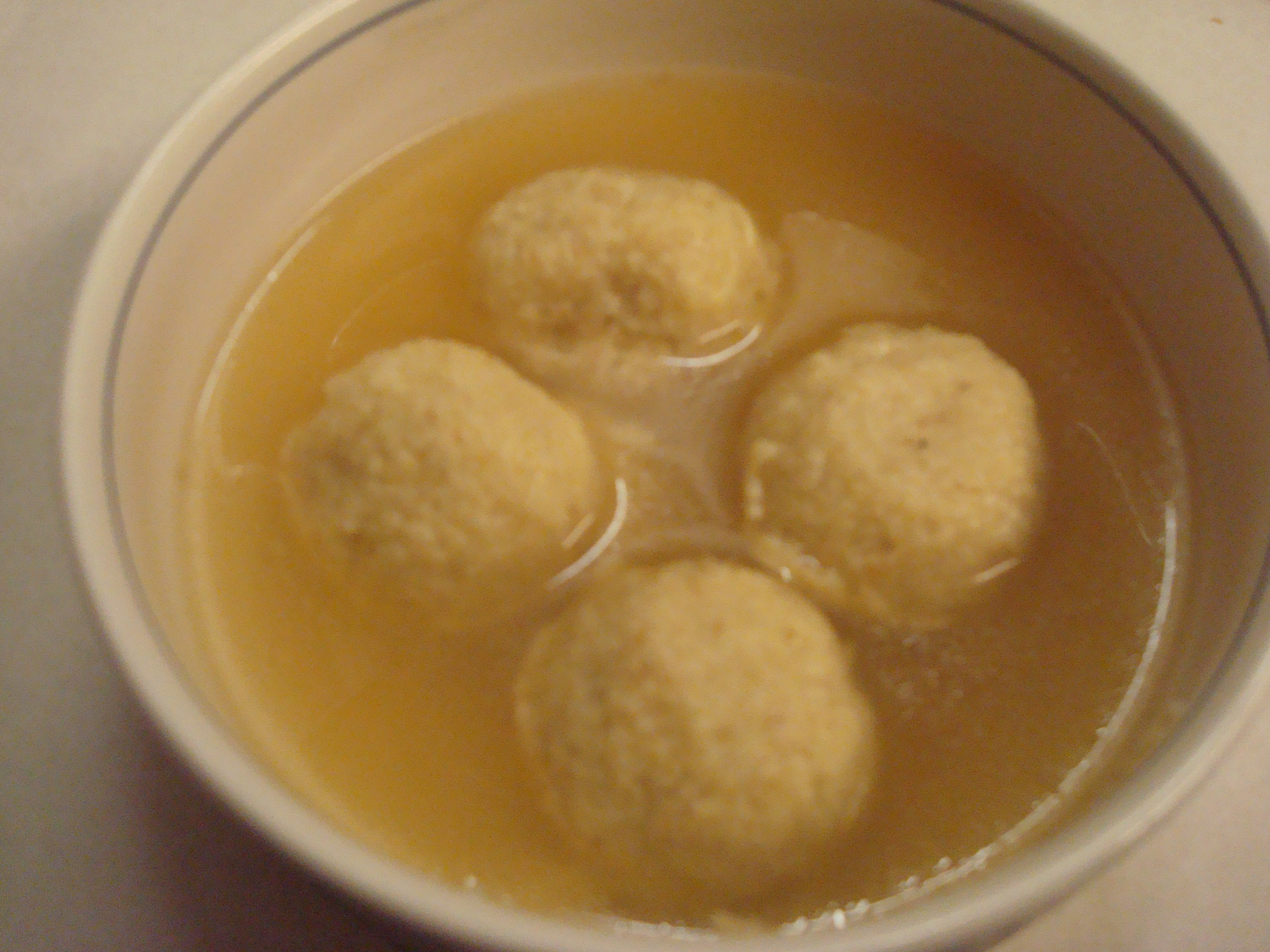 Matzo Ball Soup « Foodie, Formerly Fat